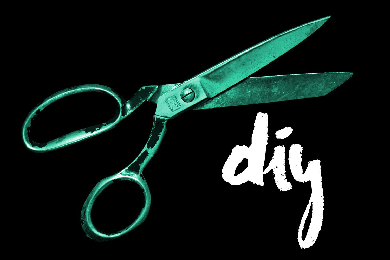 DIY T-shirt cutting idea