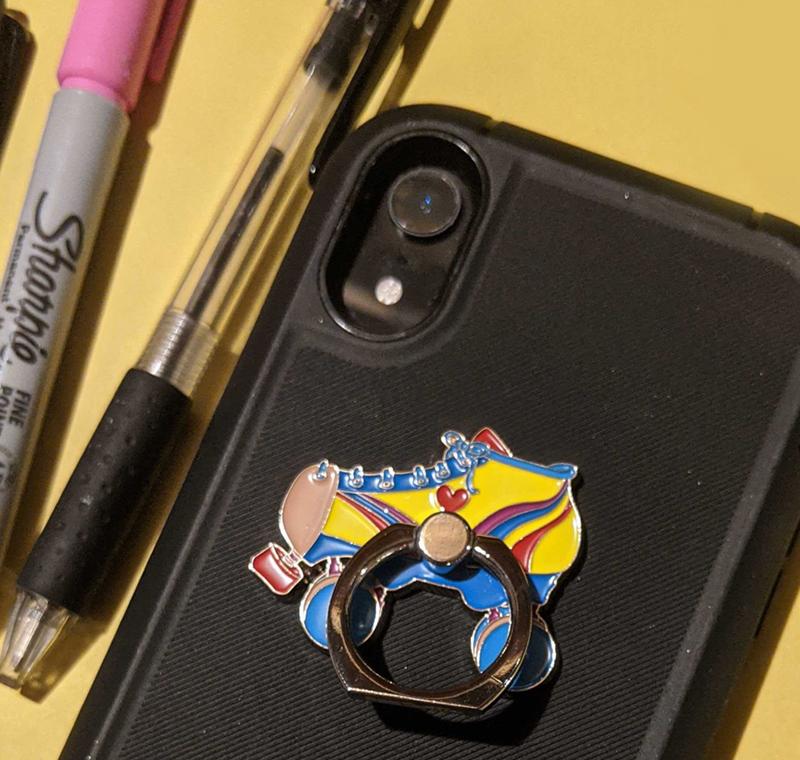 Roller Derby Phone Ring Stand/Holder