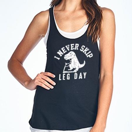T-Rex Leg Day Tank