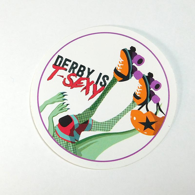 Derby Is T-Sexy Sticker