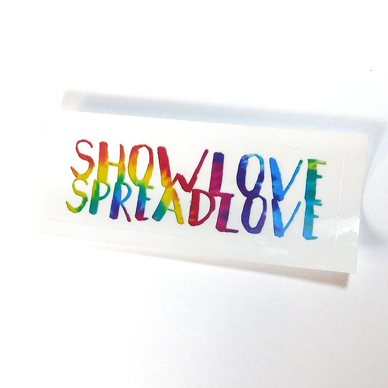 Show Love Spread Sticker