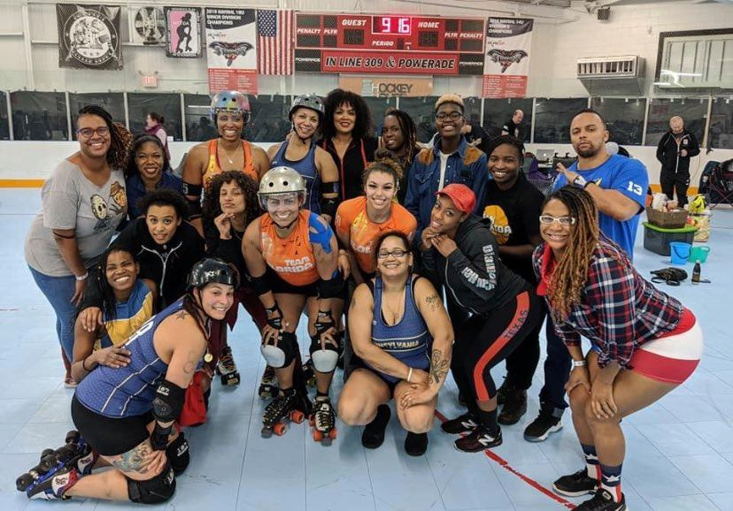 Team Black Diaspora Roller Derby