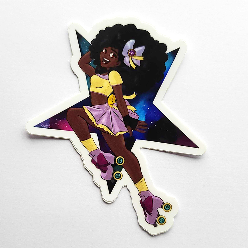 Sailor Skater sticker