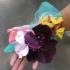 Orchid hair barrette pri
