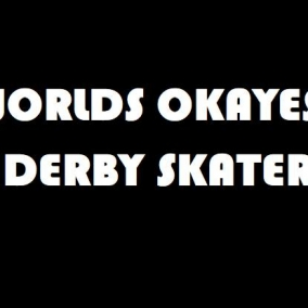Worlds Okayest Derby Player Iron On