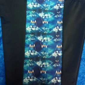 """Not So Short and Sweet 5″ inseam side prints """"Heroes and Villains"""" selection"""