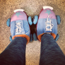 Bout Betties Plush Skate Slippers