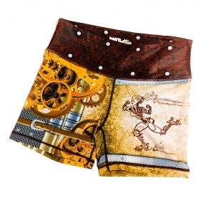 """RoBout"" Steampunk Derby Shorts"