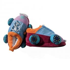 Bout Betties Plush Skate Slippers