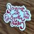 I Support Junior Roller Derby sticker