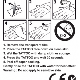 Number Bout Tattoos-instructions