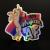 I am Majestic AF roller derby unicorn in bisexual pride flag colors