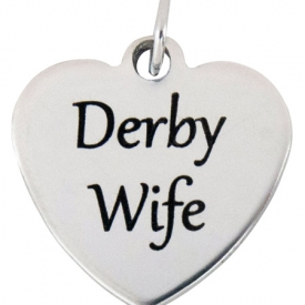 Derby Wife Stainless Steel Charm