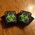 Biohazard Roller Skate Toe Guards