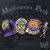 Roller Derby Halloween Sticker Pack