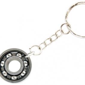 Roller Derby Skate Bearing Keychain – Plain