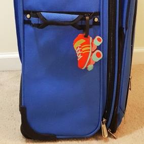 Skate Luggage Tag