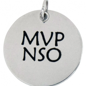 MVP NSO Stainless Steel Charm