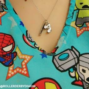 Skate Charm Necklace