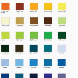 vinyl color options design
