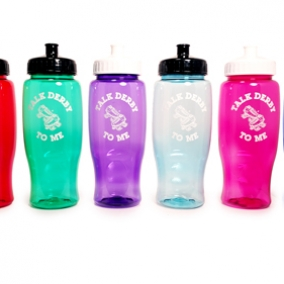 """Talk Derby To Me"" 27oz Water bottle"